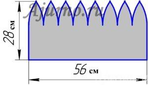 Схема 1 Серая Шапка