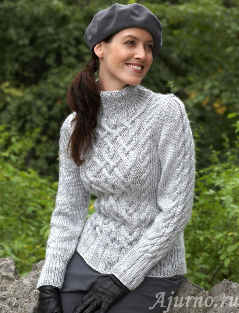 свитер аранами
